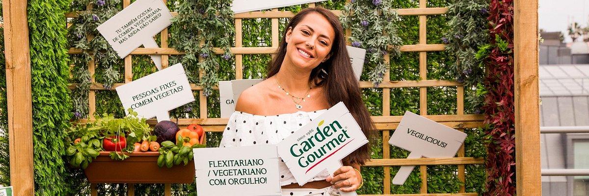Caras conhecidas aprovam as novas refeições surpreendentemente vegetarianas Garden Gourmet®