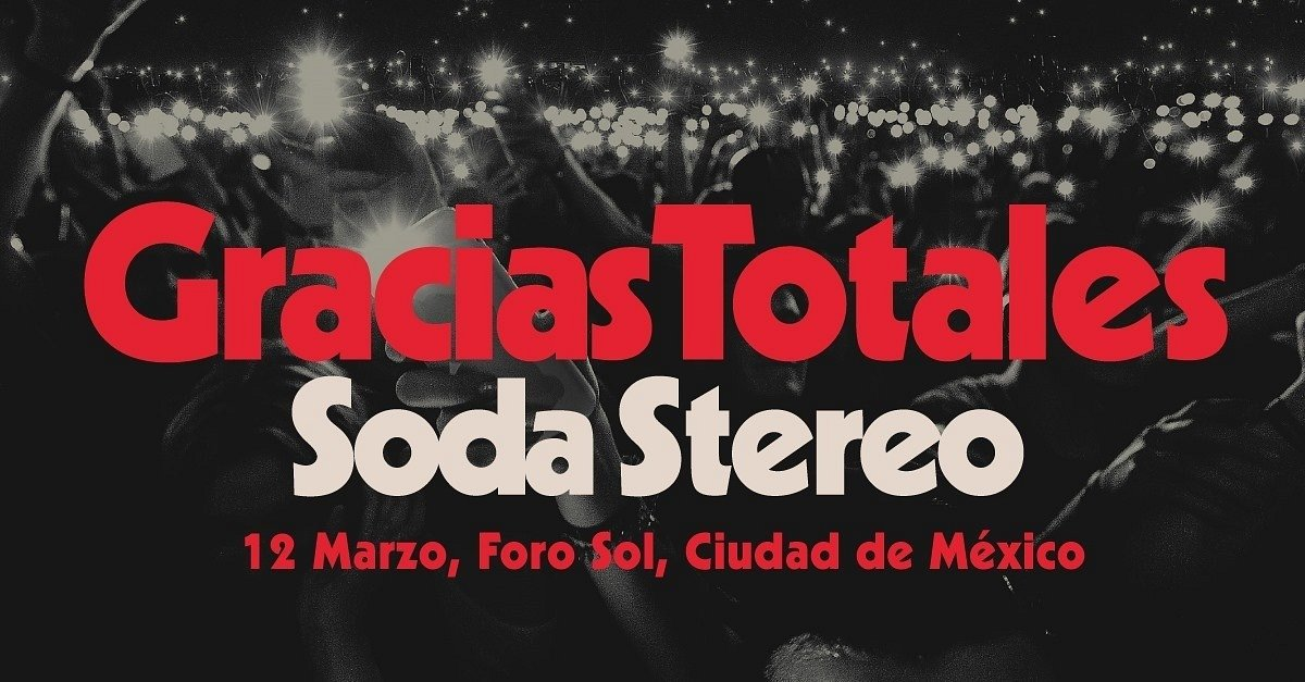 Gracias Totales-Soda Stereo