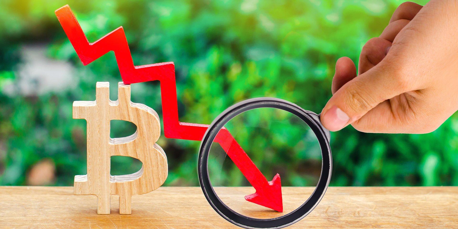 Market Behavior in Times of Bitcoin's Rough Slump