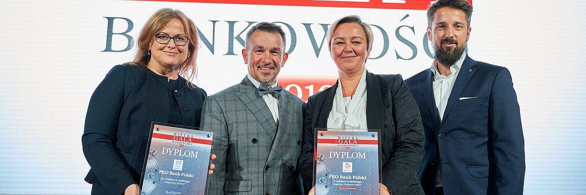 "PKO Bank Polski na podium rankingów ""Newsweeka"" i ""Forbesa"""