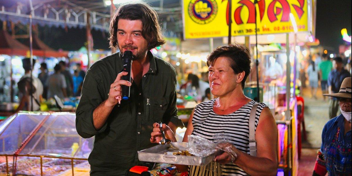 Starsza pani musi fiknąć: Egzotyka kontra tradycja, czyli Tomek Szczepanik z mamą w Tajlandii!