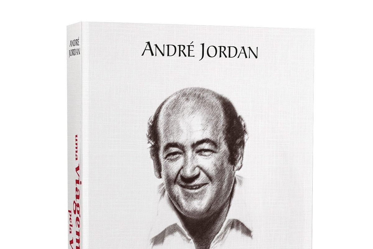 """André Jordan revela """"Uma viagem pela vida"""" em livro de memórias agora nas livrarias"""