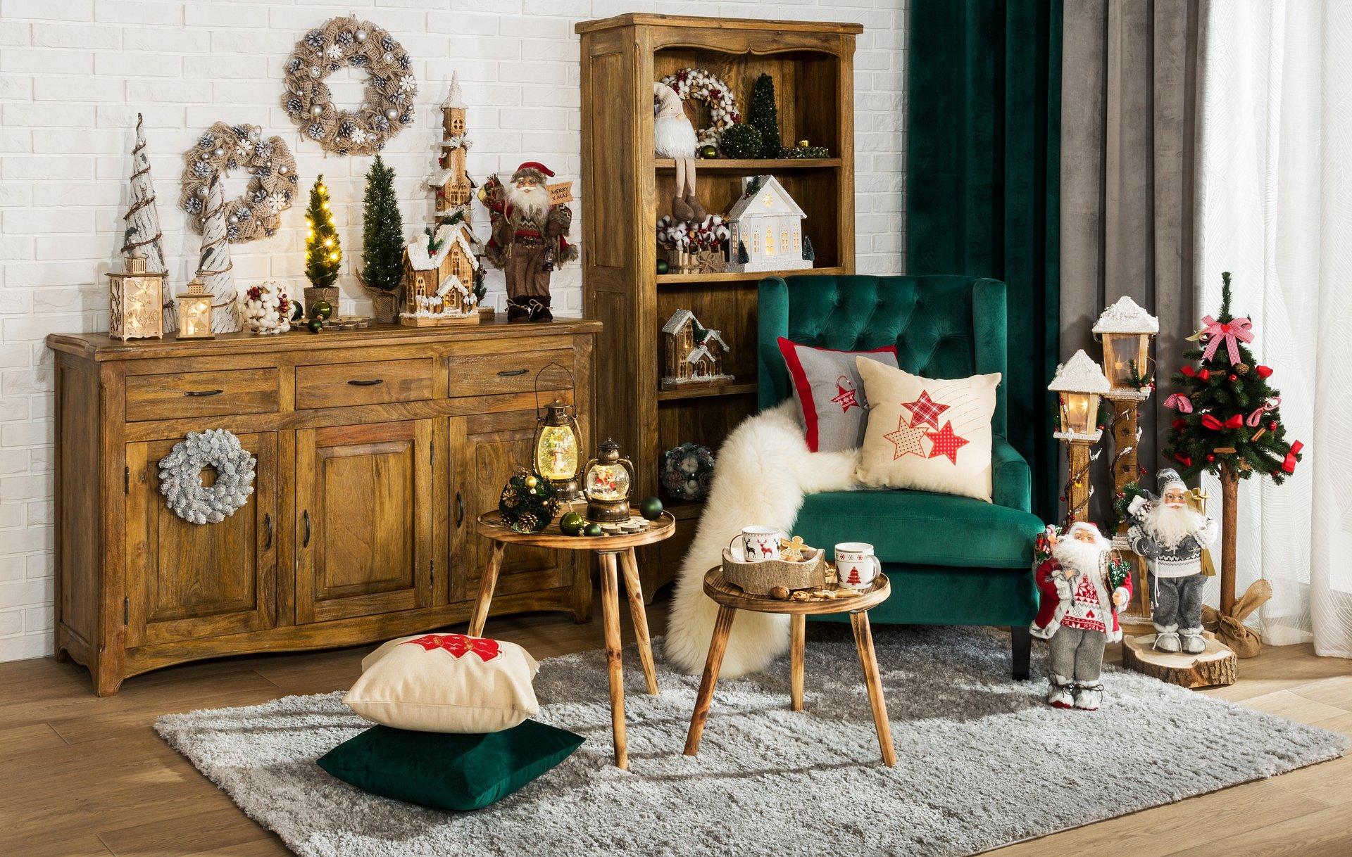 Aranżacje świąteczne w Salonach Agata