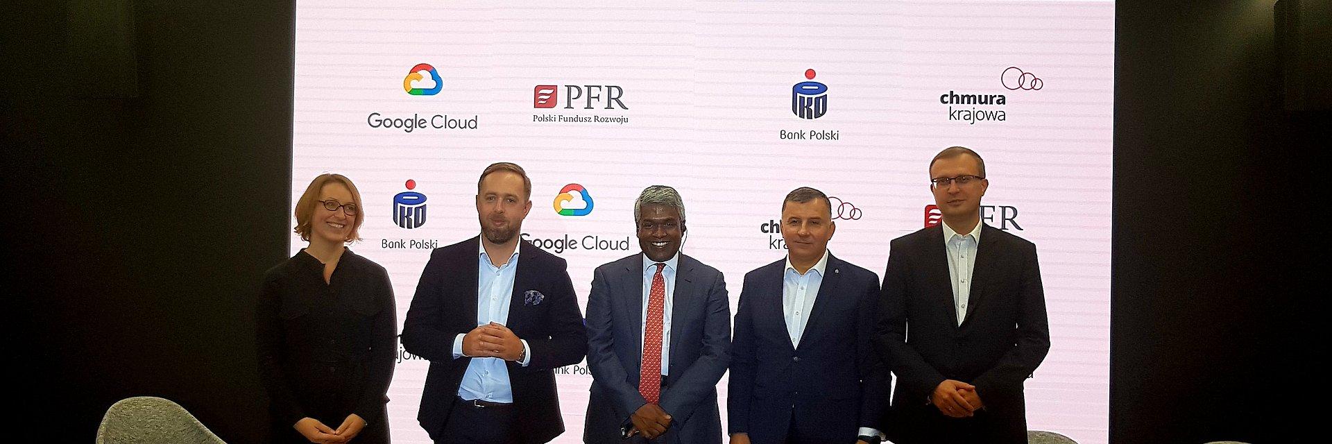 Strategiczne partnerstwo Operatora Chmury Krajowej i Google dla cyfryzacji polskiej gospodarki