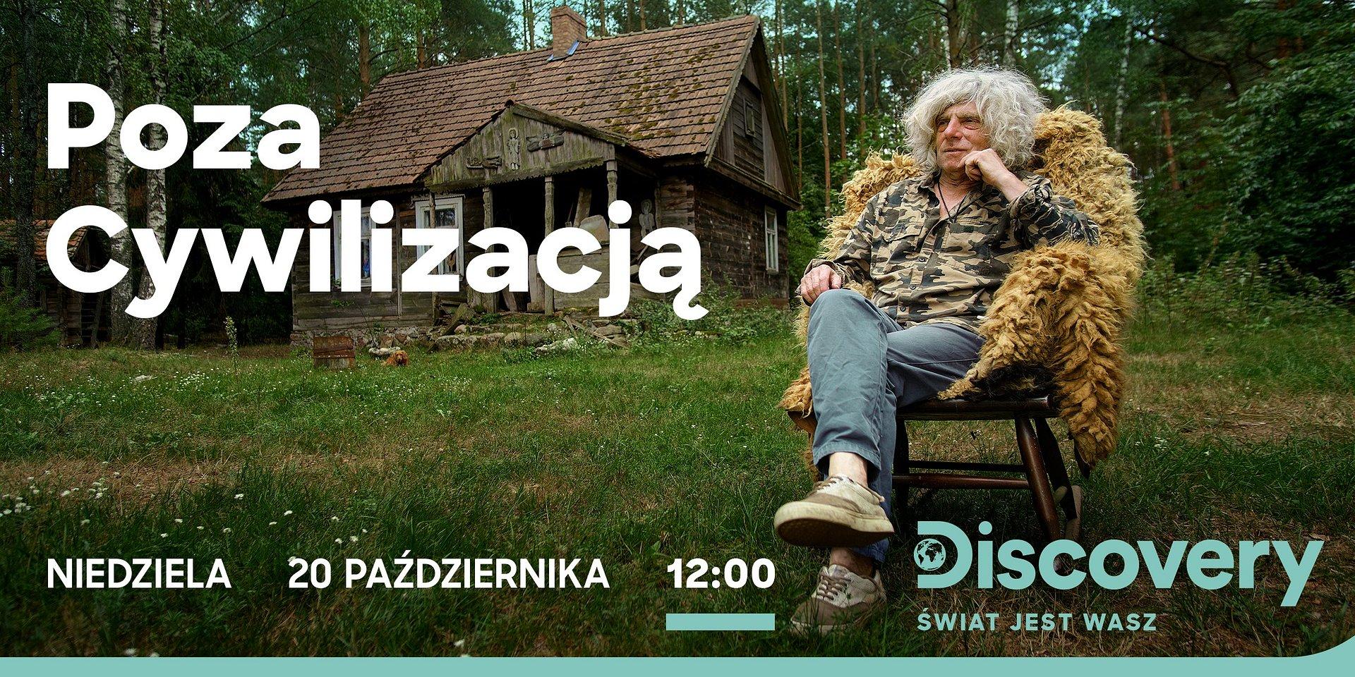 """""""Poza cywilizacją"""" – nowy program Discovery Channel na antenie już o 20 października!"""