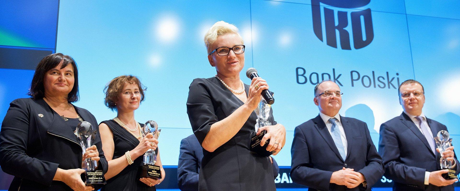 PKO Bank Polski liderem konkursu The Best Annual Report 2018