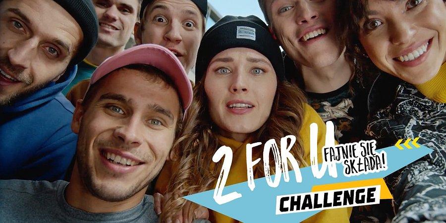 2 for U Challenge – nowa kampania McDonald's od Isobar Polska