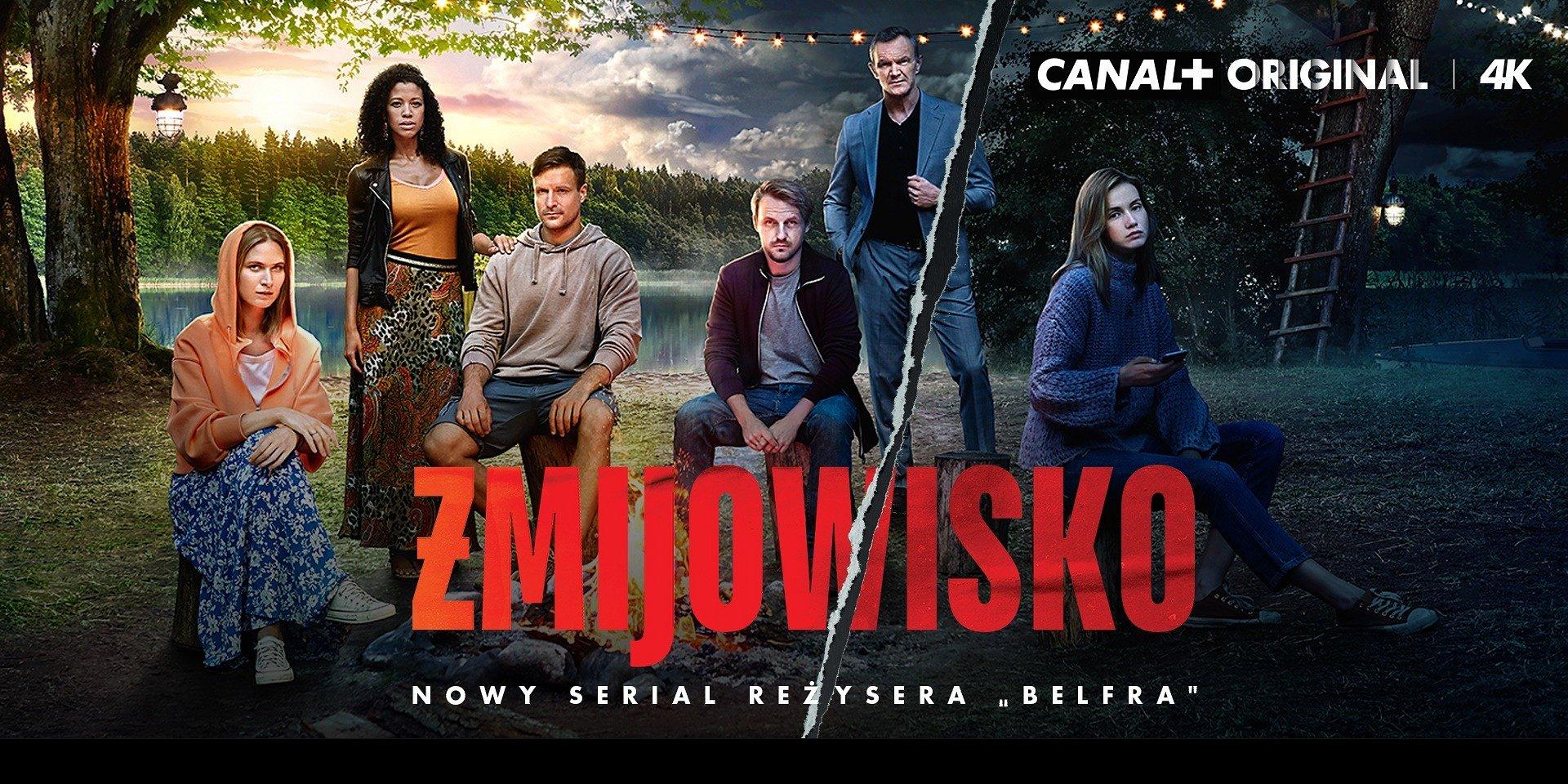 """CANAL+ prezentuje oficjalny zwiastun """"Żmijowiska"""". Premiera serialu już 3 listopada o godz. 21:30!"""