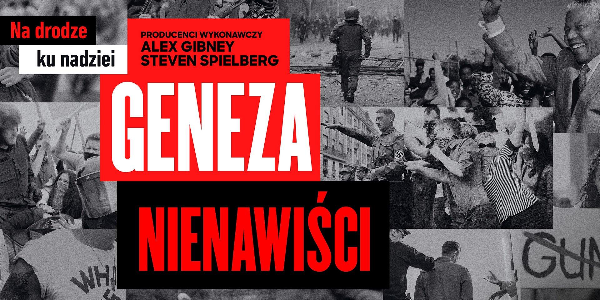 """Nowy serial dokumentalny laureatów Oscara® Alexa Gibneya i Stevena Spielberga """"Geneza nienawiści"""" już 21 października w Discovery Channel!"""