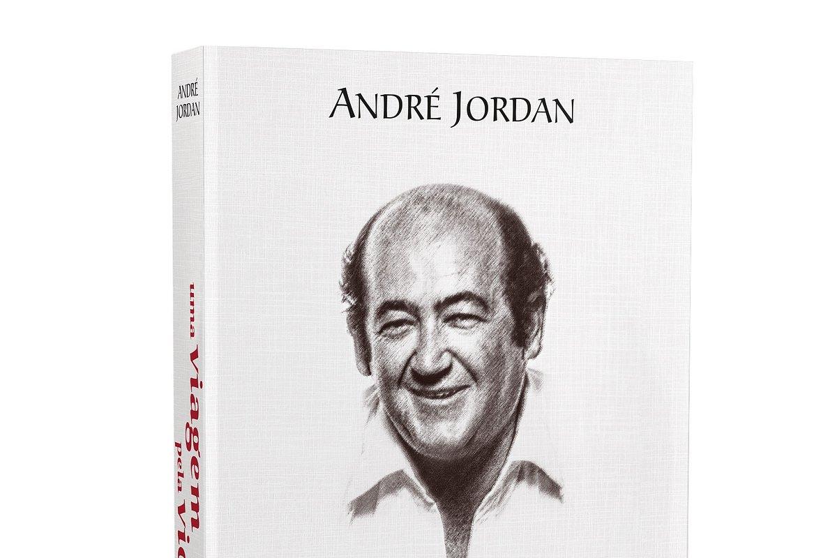 """Sugestão: Livro de memórias """"Uma viagem pela vida"""", de André Jordan"""