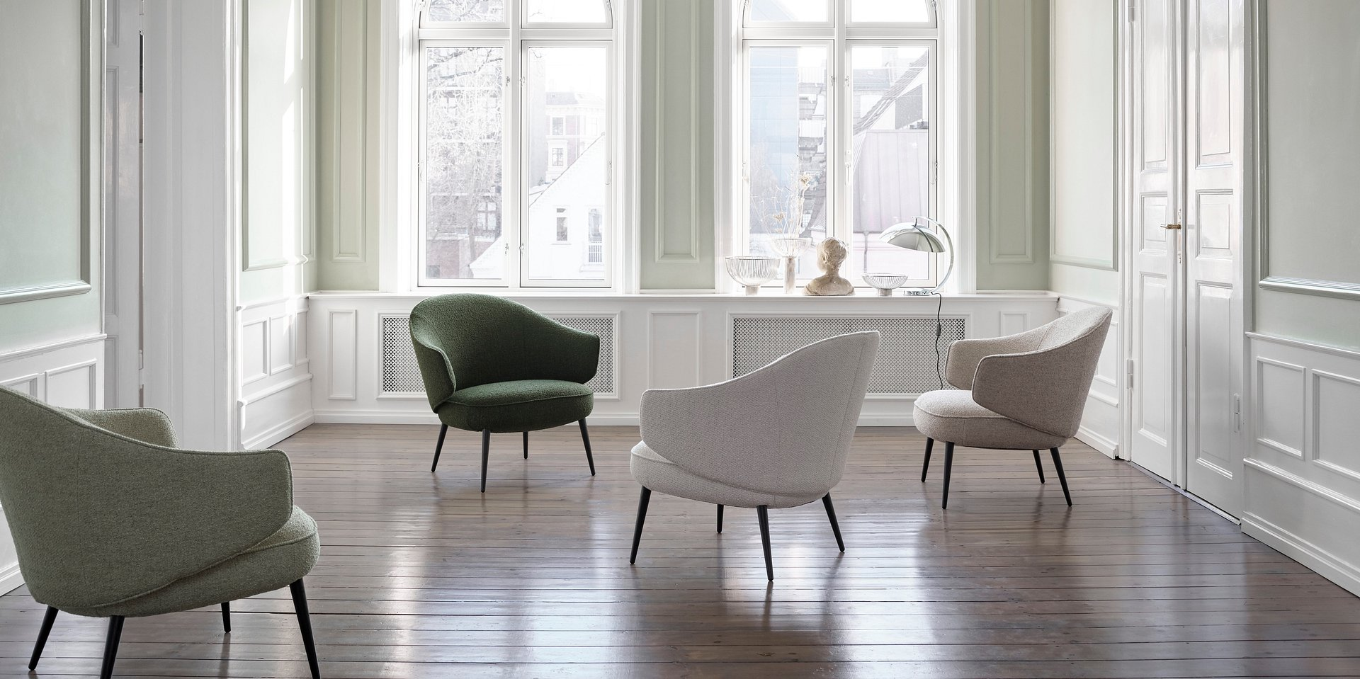 BoConcept przedstawia nowe meble do salonu projektu Henrika Pedersena