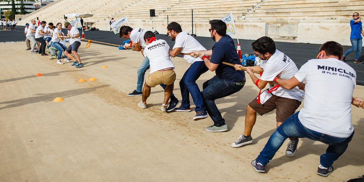 Daha hızlı, daha yüksek, daha güçlü. Spor insanları bir araya getiriyor!