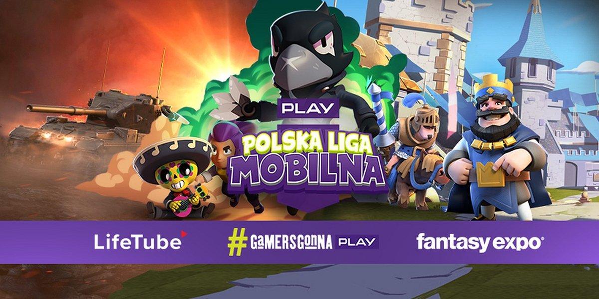 PLAY Polska Liga Mobilna - pierwsza liga dla grających na urządzeniach mobilnych, wychodzi naprzeciw rosnącej popularności gier mobilnych.
