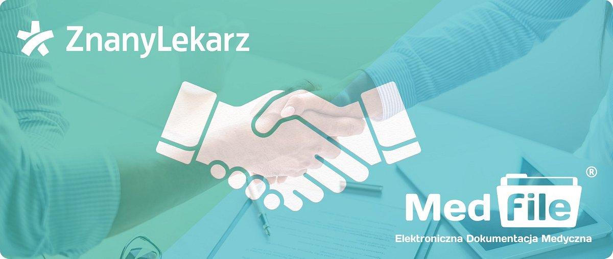 ZnanyLekarz i Medfile ogłaszają współpracę. Obie firmy chcą przyspieszyć cyfrową transformację polskiej służby zdrowia.