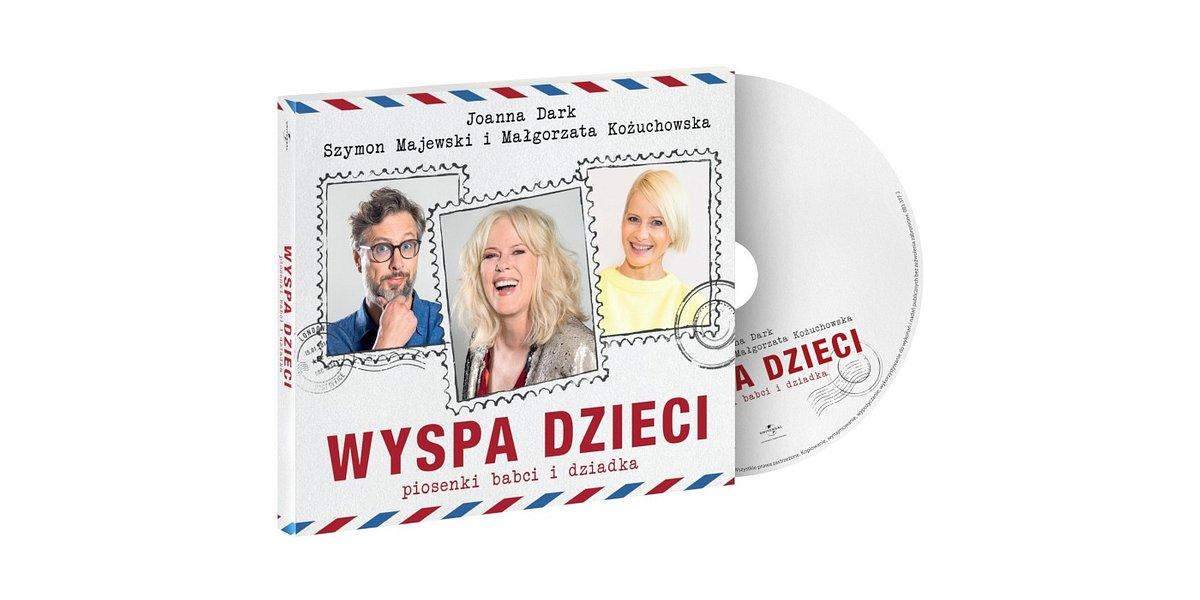 Małgorzata Kożuchowska i Szymon Majewski gościnnie na płycie Joanny Dark