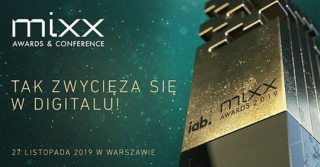 Cztery nominacje MIXX Awards 2019