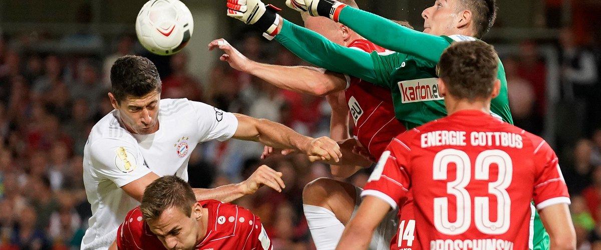 Hity Pucharu Niemiec we wtorek i środę w Eurosporcie. Każde spotkanie tylko w Eurosport Playerze