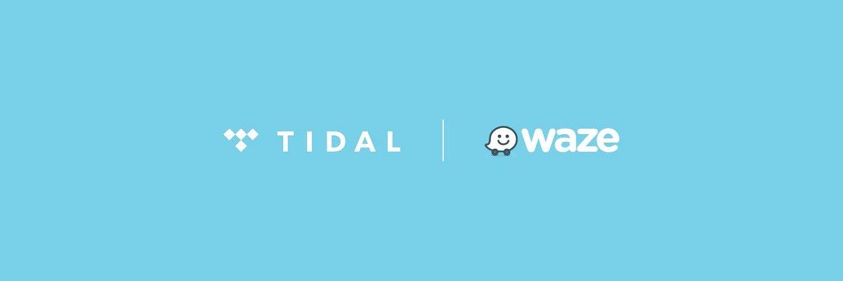 TIDAL rozpoczął współpracę z nawigacją Waze