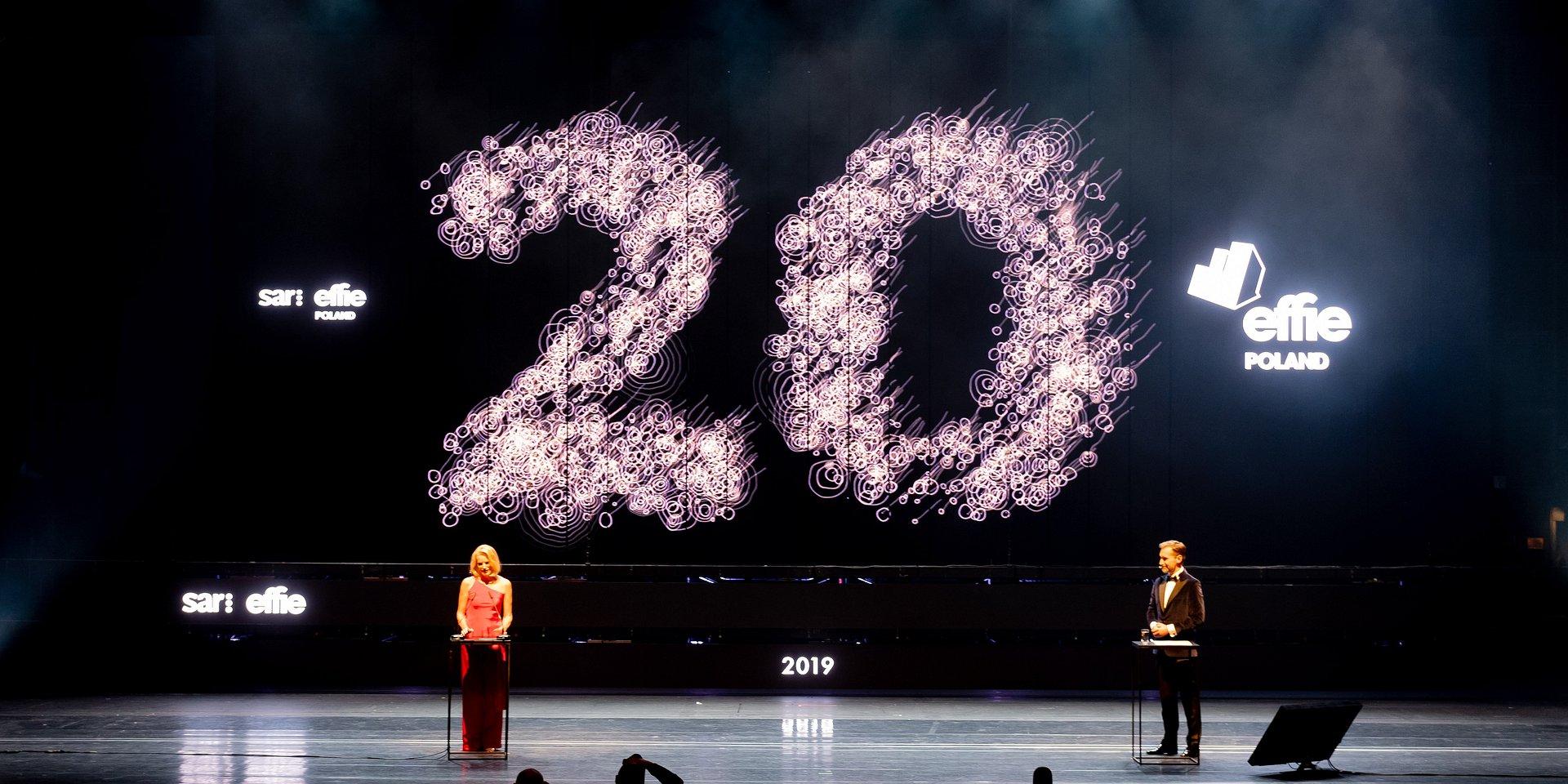 Wręczono nagrody w 20 edycji SAR: Effie Awards 2019 19 brązowych, 31 srebrnych, 6 złotych statuetek oraz Grand Prix konkursu 2019