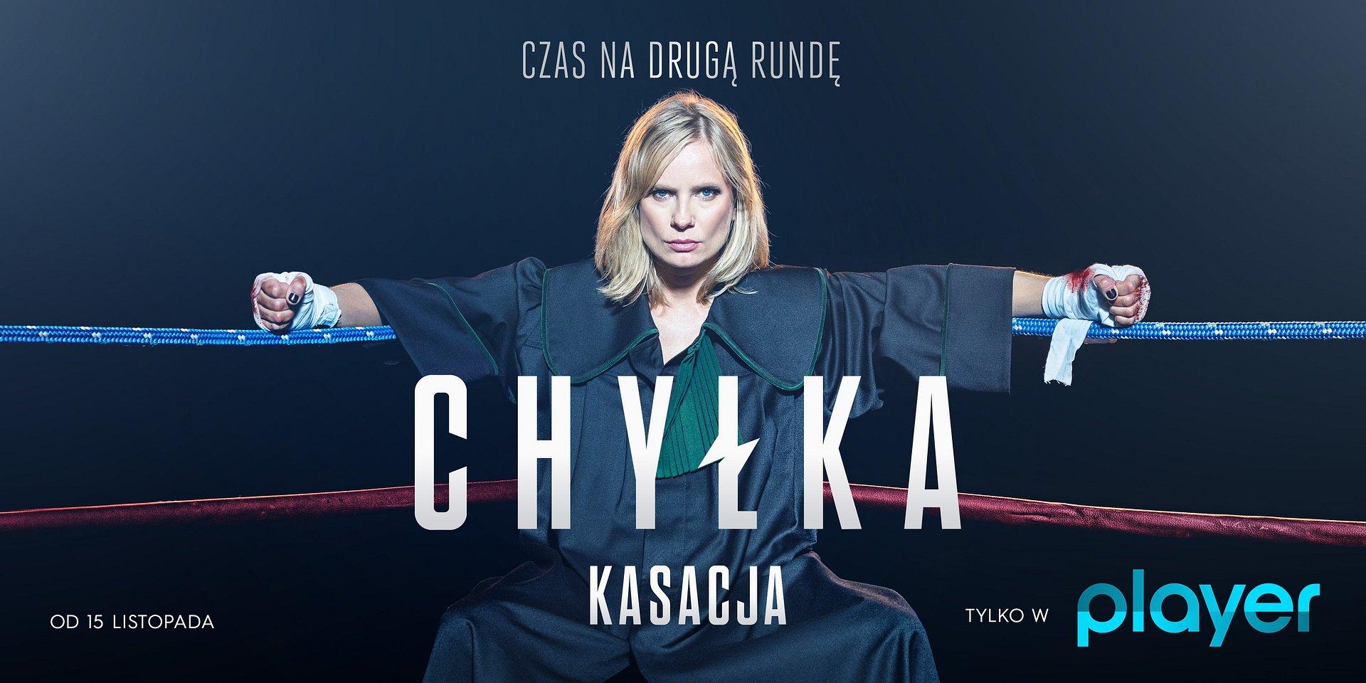 """Listopad w Player: serial """"Chyłka-Kasacja"""" oraz moc jesiennych nowości!"""