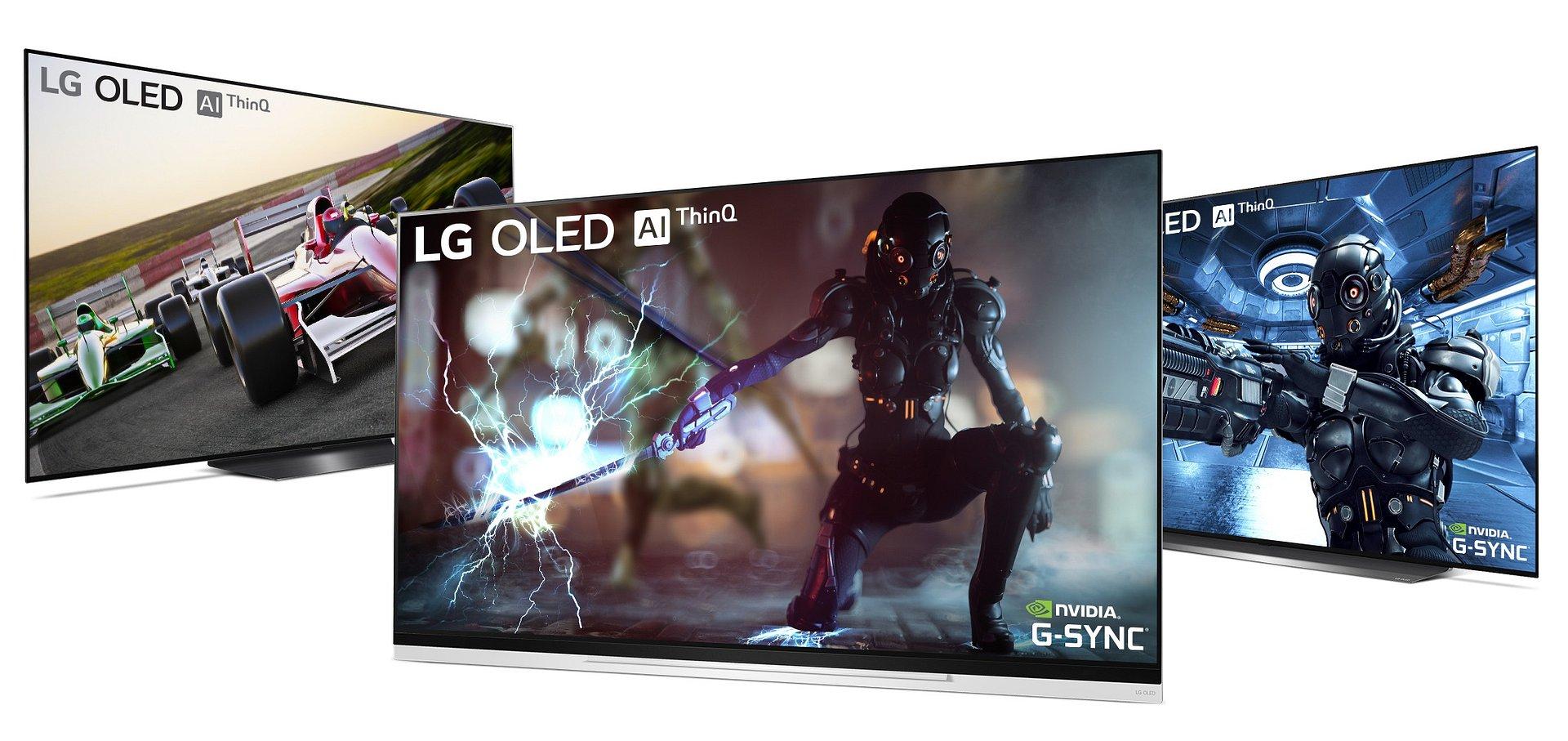Nowy wymiar gier video na telewizorach LG OLED! Kompatybilność z NVIDIA G-SYNC już w tym tygodniu