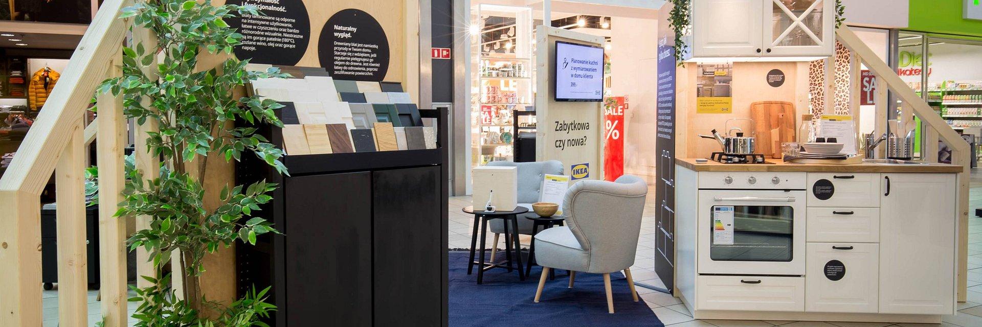 IKEA otworzyła showroom w centrum handlowym M1 w Krakowie