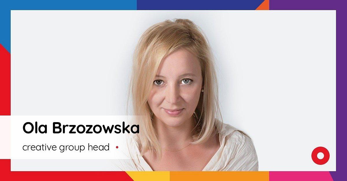 Ola Brzozowska jako creative group head na czele kreacji eventowej w Plej