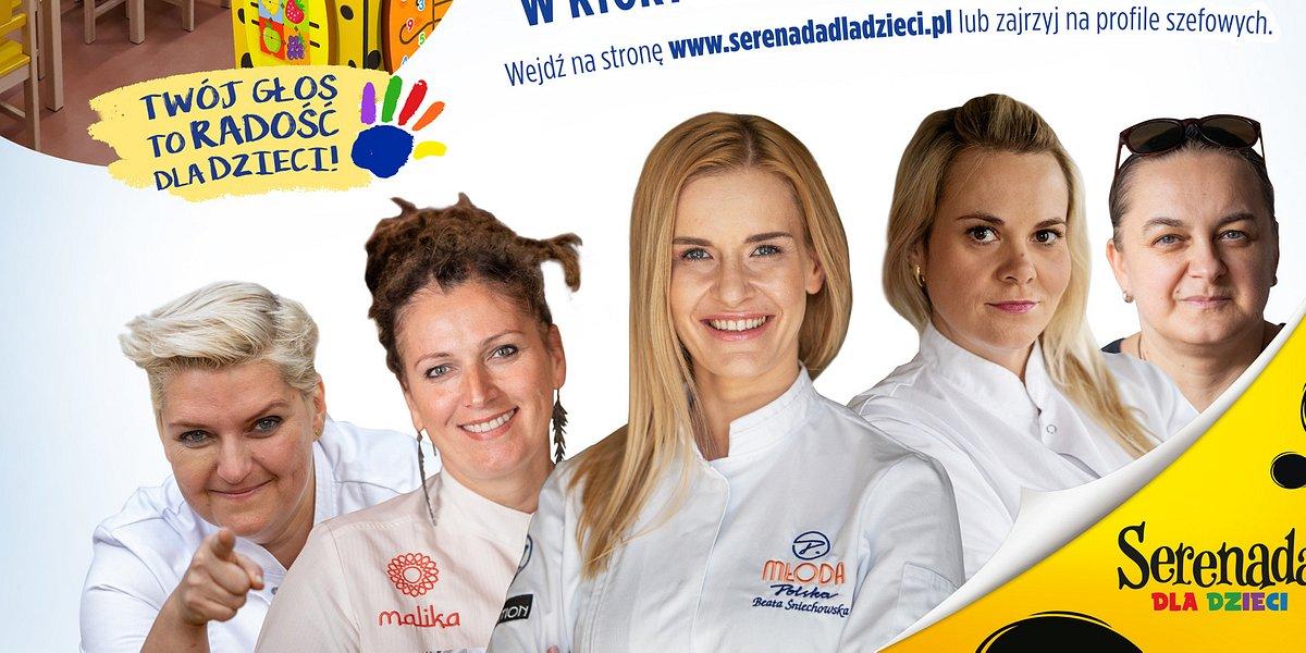 Kąciki zabaw dla dzieci - szefowe kuchni włączyły się do akcji Serenada dla dzieci