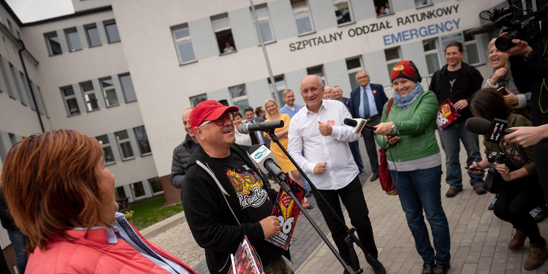 Przekazanie sprzętu w Ostrowie Wielkopolskim i Katowicach - zaproszenie