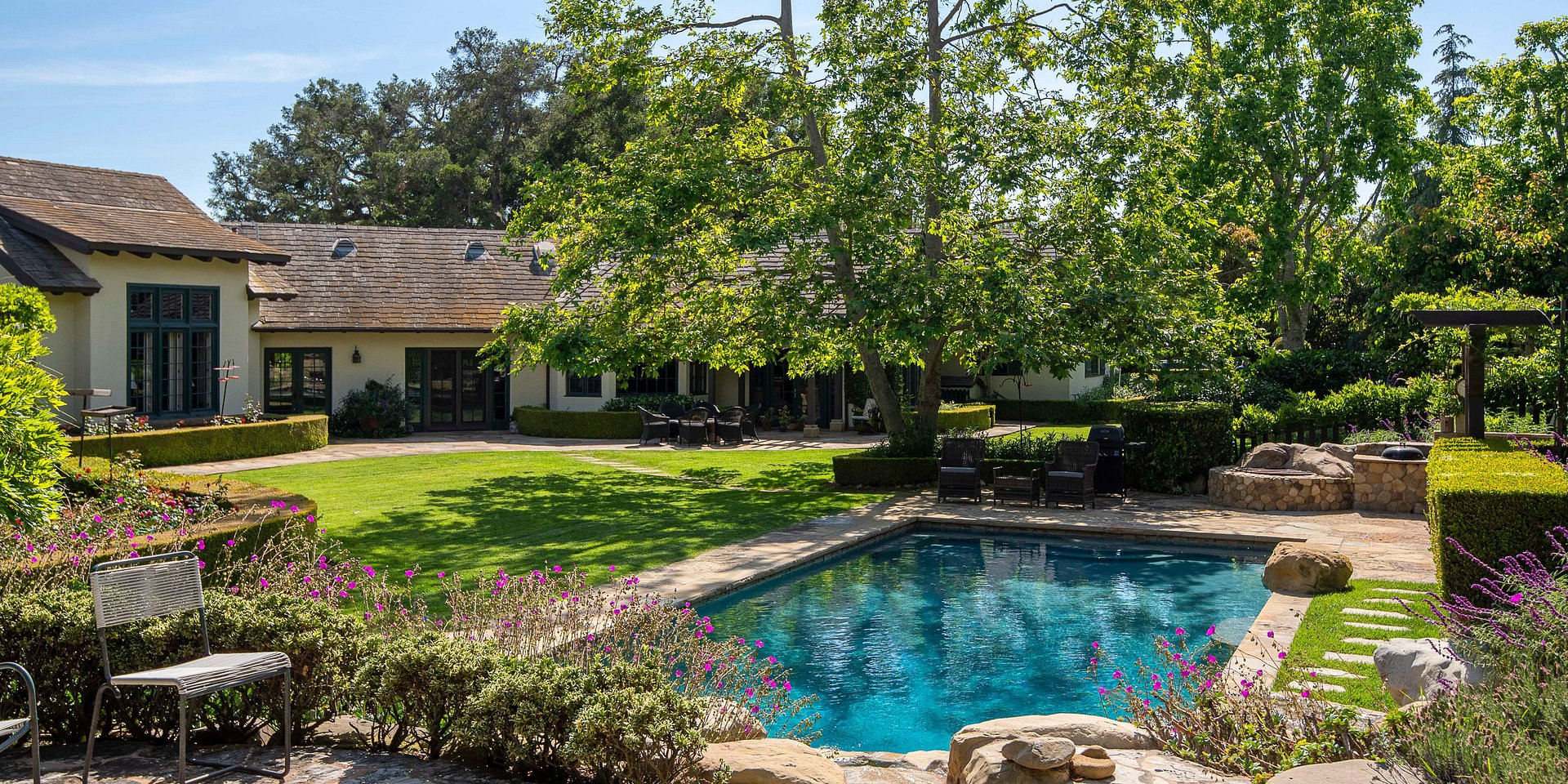 Coldwell Banker Residential Brokerage Lists Former Montecito Home of Rob Lowe for $4.395 Million