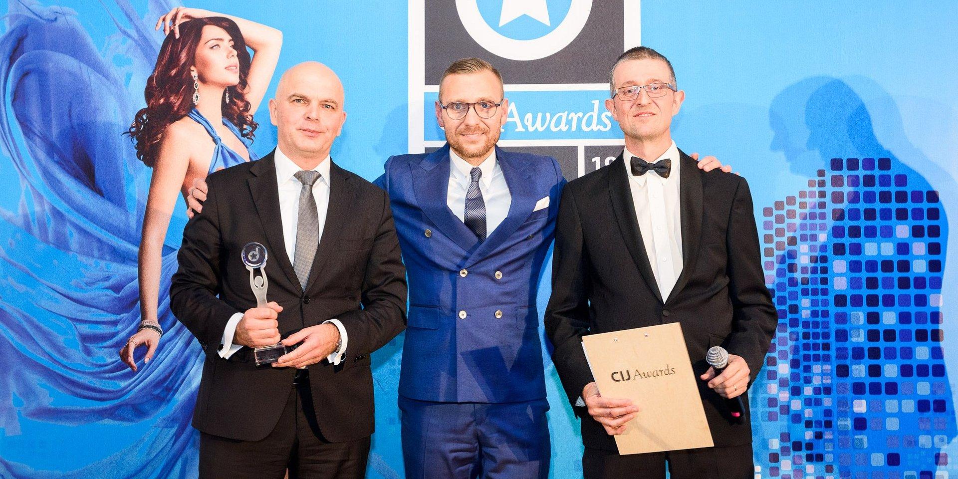 Torus z dwiema nagrodami podczas CIJ Awards Poland 2019