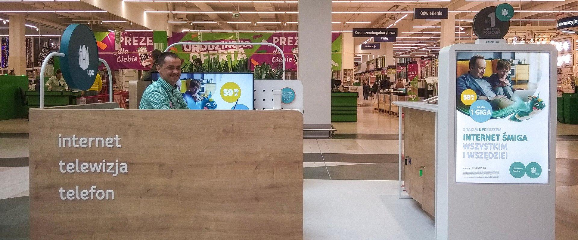 UPC w największym centrum handlowym w Polsce!