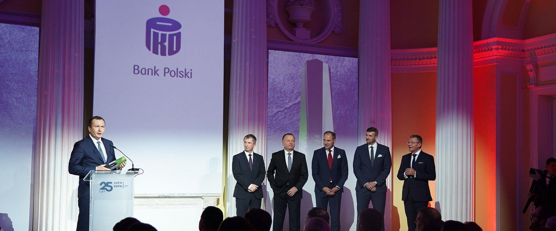 PKO Bank Polski nagrodzony przez Krajowy Depozyt Papierów Wartościowych