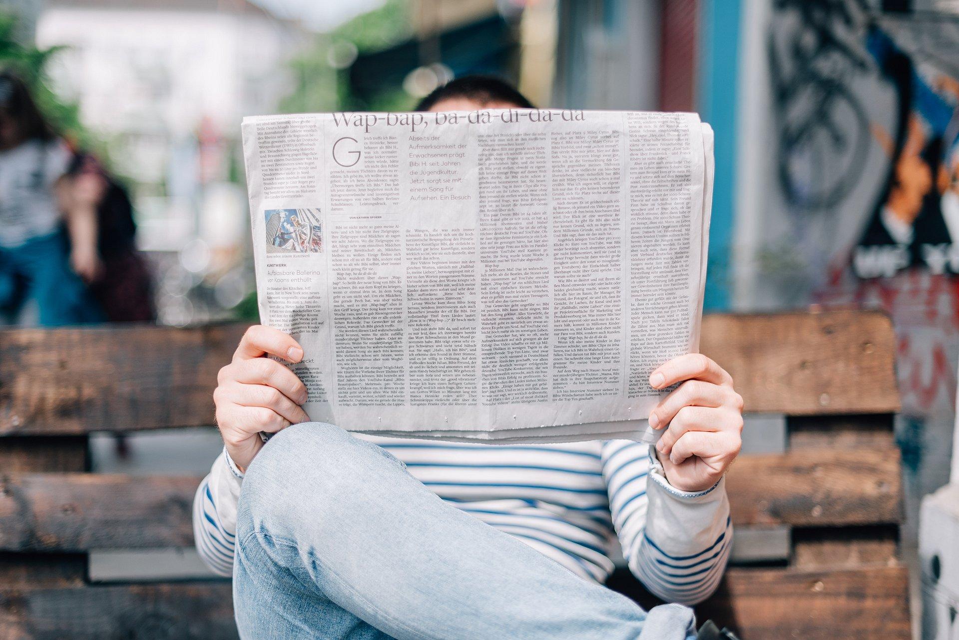 Bez gazetki ani rusz