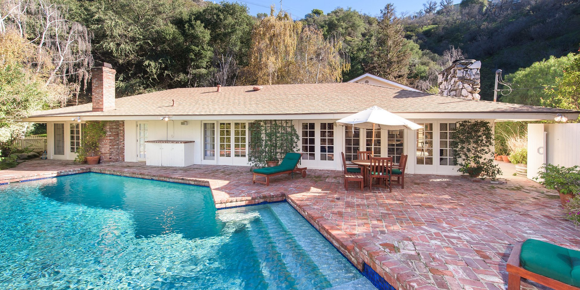 Coldwell Banker Residential Brokerage Lists Beverly Hills Home of Italian Actress Veronica De Laurentiis, Formerly Rented to Actress & Singer Liza Minnelli & British Luxury Furniture Designer Christopher Guy for a $10,900 Monthly Lease