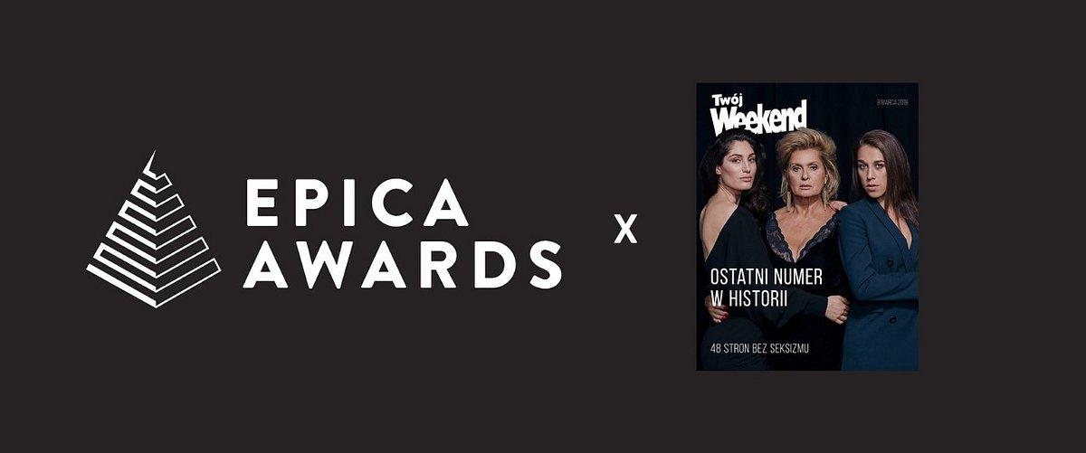 """""""Ostatni Twój Weekend"""" znalazł się na shortliście Epica Awards"""