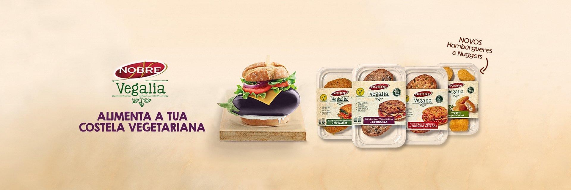 Nobre Vegalia lança novos produtos
