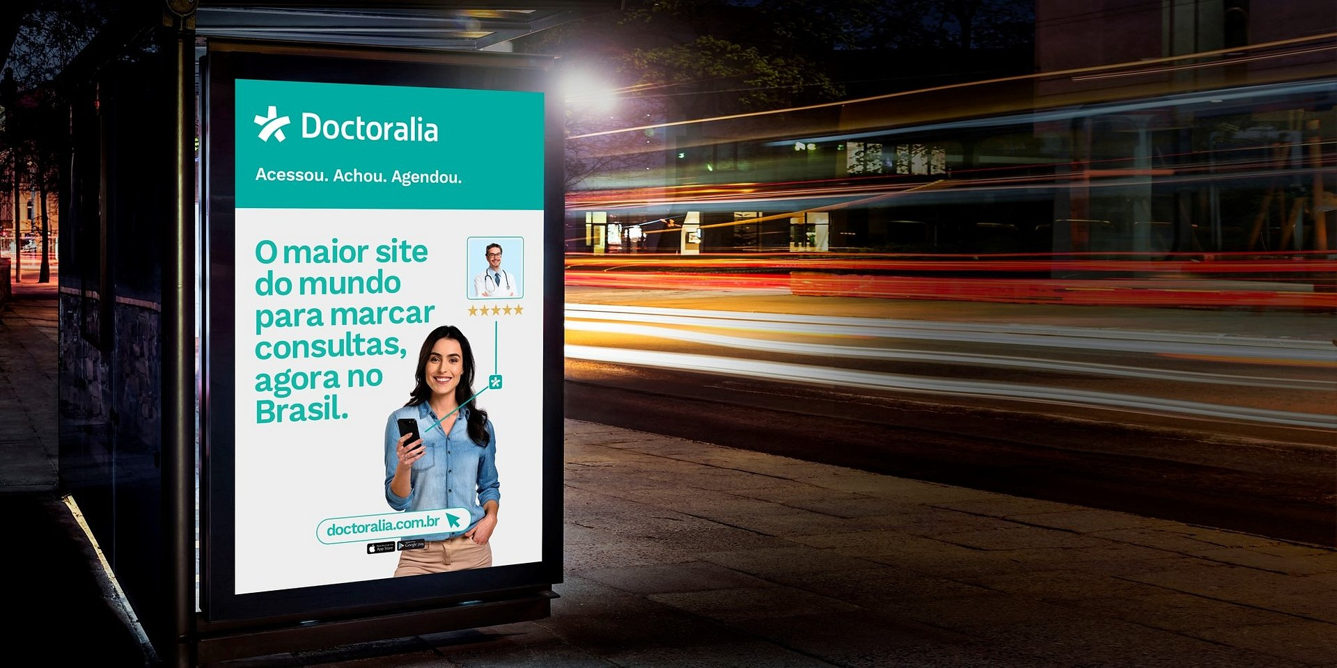 Doctoralia Brasil lança sua primeira campanha publicitária