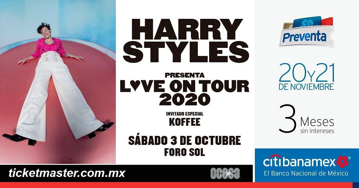 HARRY STYLES ANUNCIA REGRESO A MÉXICO