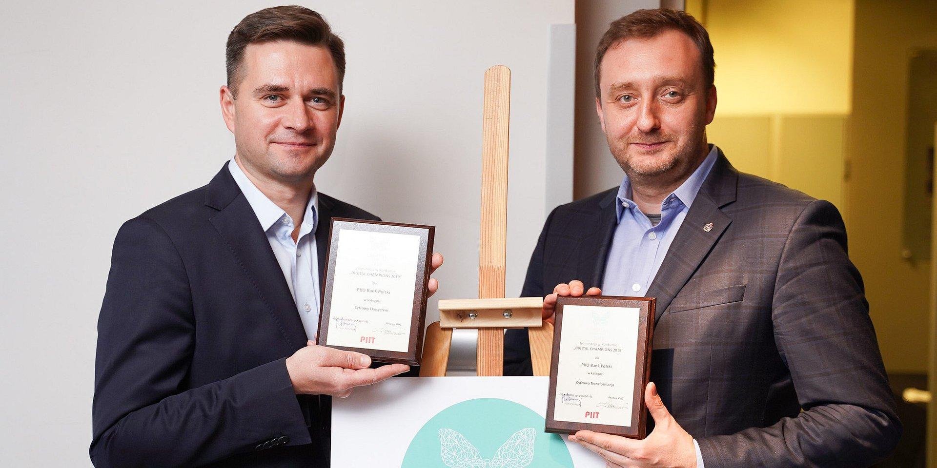 PKO Bank Polski z nominacjami w konkursie Digital Champions 2019