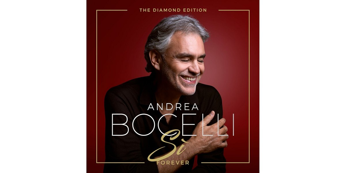"Andrea Bocelli prezentuje album ""Si Forever: The Diamond Edition"""