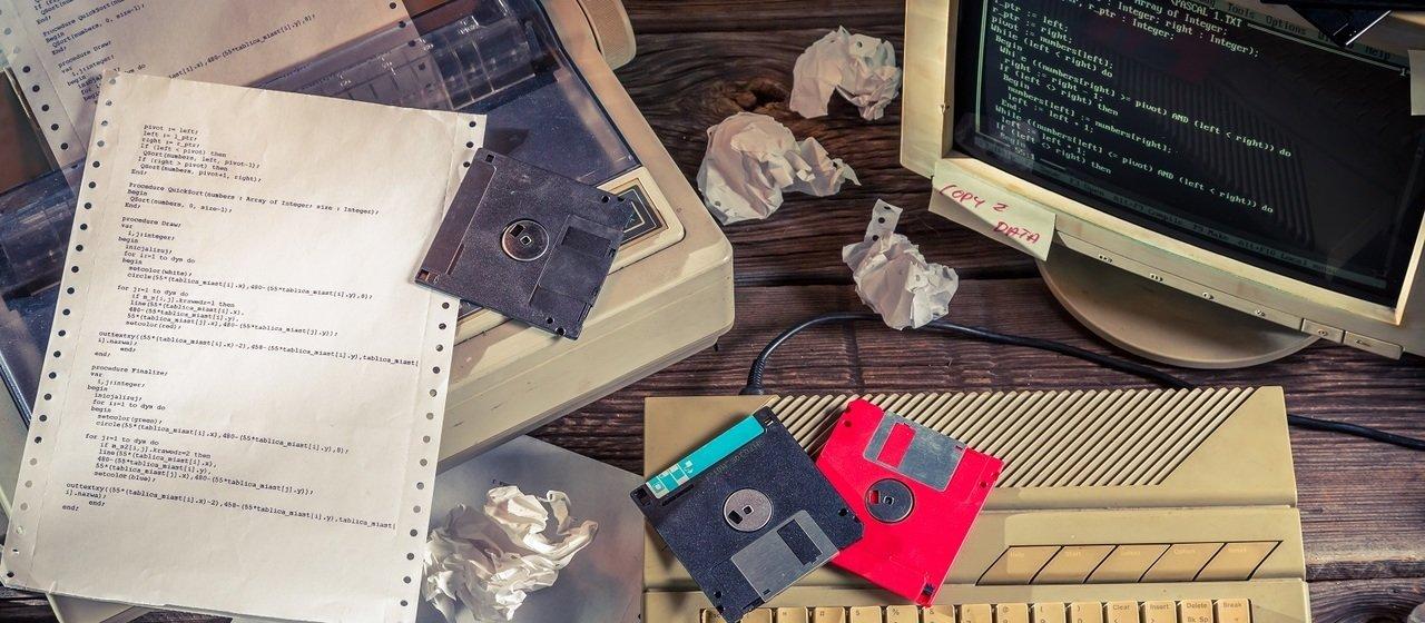 Komputerowe relikty–o nich nie można zapomnieć!