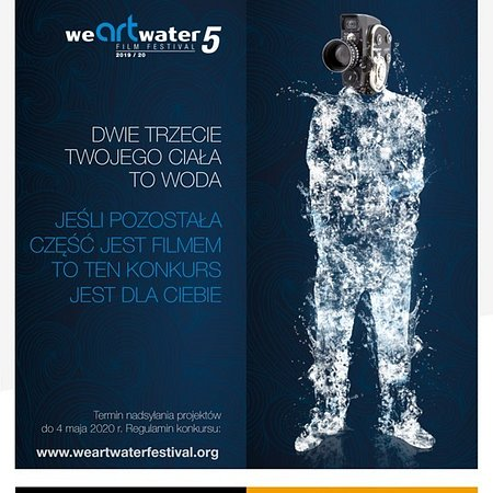 """Fundacja We are water przy wsparciu ONZ organizuje nową edycję festiwalu filmowego We Art. Water Film Festival, jego przedmiotem jest """"Kryzys klimatyczny""""."""