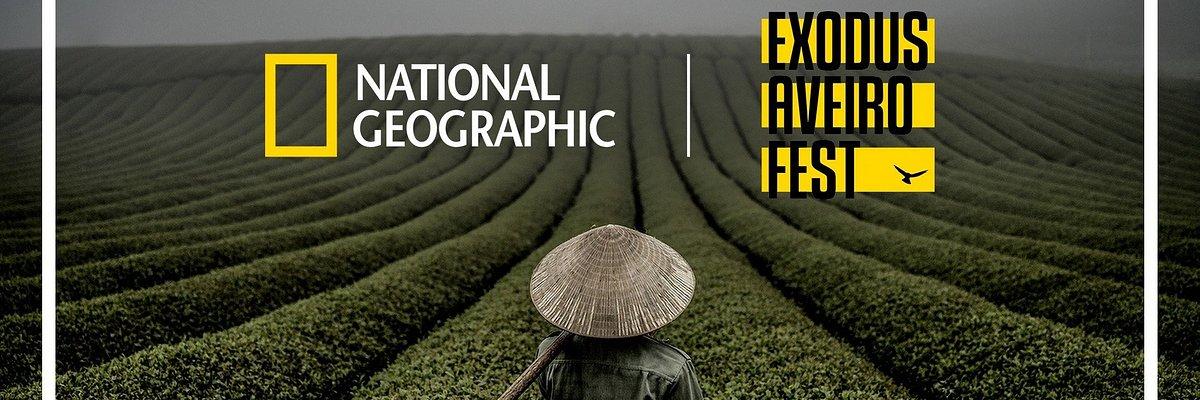 'NATIONAL GEOGRAPHIC EXODUS AVEIRO FEST': 3ª EDIÇÃO DO FESTIVAL INTERNACIONAL COM ALGUNS DOS MELHORES FOTÓGRAFOS E VIDEÓGRAFOS DO MUNDO