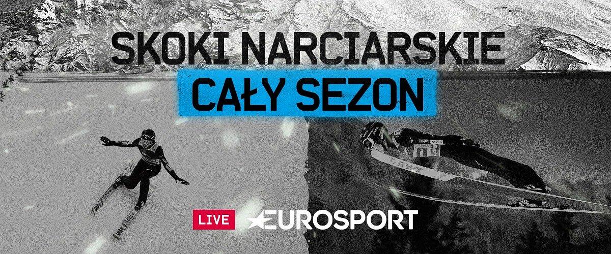 Konkursy i kwalifikacje na żywo oraz łączone studia z udziałem znakomitych ekspertów, czyli skoki narciarskie w Eurosporcie 1