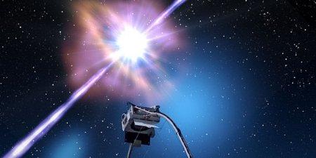 Światło razy bilion - fizycy UŁ wzięli udział w odkryciu nowego błysku gamma