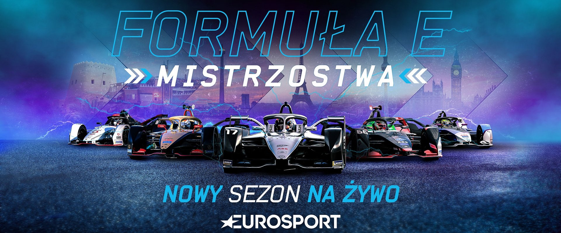 Cały sezon Formuły E od piątku na żywo tylko w Eurosporcie i Eurosport Playerze