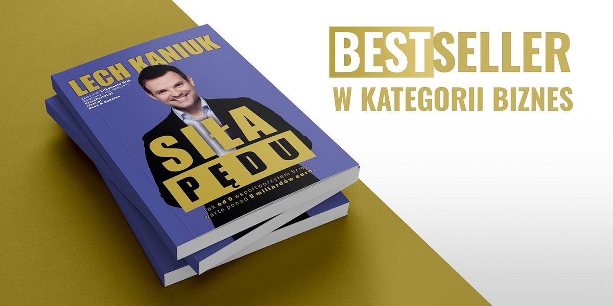 """Goodreads nie kłamie! """"Siła Pędu"""" Lecha Kaniuka bestsellerem wśród książek biznesowych"""