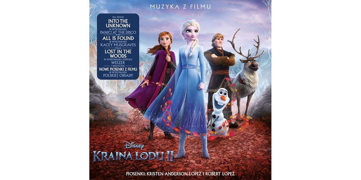 """""""Kraina lodu 2"""": ścieżka dźwiękowa kultowej animacji Disneya już dostępna!"""