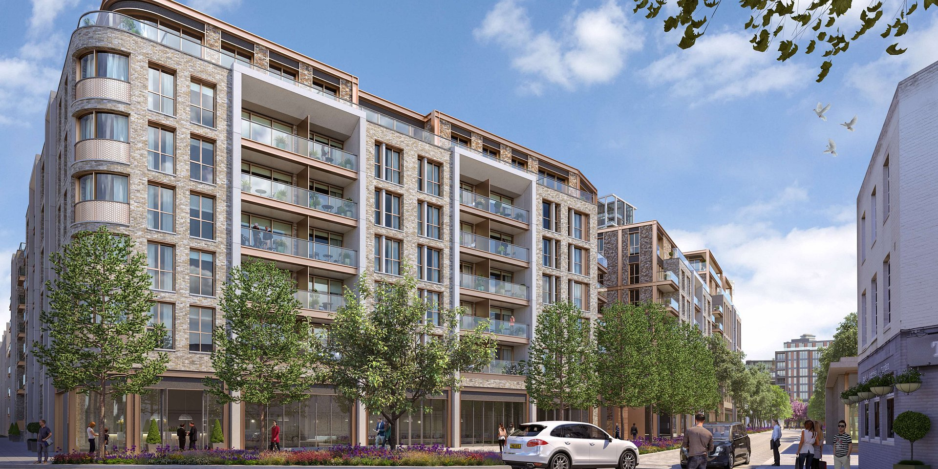 Coldwell Banker Residential Brokerage Announces New South West London Property King's Road Park
